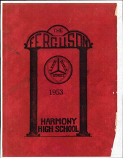 1953 Edition, Harmony High School - Ferguson Yearbook (St Cloud, FL)