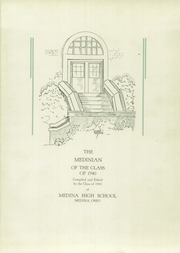 Page 5, 1940 Edition, Medina High School - Bobcat Yearbook (Medina, OH) online yearbook collection