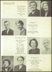 Page 15, 1949 Edition, Mellon High School - Mellon Patch Yearbook (Palatka, FL) online yearbook collection