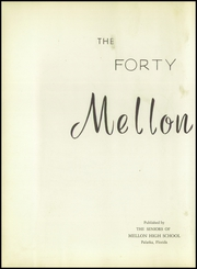 Page 8, 1949 Edition, Mellon High School - Mellon Patch Yearbook (Palatka, FL) online yearbook collection