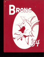 1954 Edition, Cody High School - Bronco Yearbook (Cody, WY)
