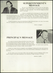 Page 6, 1958 Edition, Cody High School - Bronco Yearbook (Cody, WY) online yearbook collection