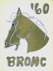 1960 Edition, Cody High School - Bronco Yearbook (Cody, WY)