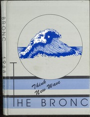 1988 Edition, Cody High School - Bronco Yearbook (Cody, WY)