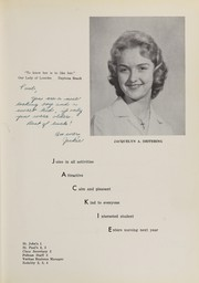 Page 17, 1959 Edition, Central Catholic High School - Veritas Yearbook (Daytona Beach, FL) online yearbook collection