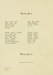 Page 8, 1898 Edition, University of North Carolina Chapel Hill - Yackety Yack Yearbook (Chapel Hill, NC) online yearbook collection