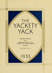 Page 7, 1933 Edition, University of North Carolina Chapel Hill - Yackety Yack Yearbook (Chapel Hill, NC) online yearbook collection