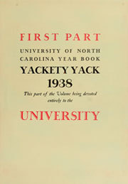Page 13, 1938 Edition, University of North Carolina Chapel Hill - Yackety Yack Yearbook (Chapel Hill, NC) online yearbook collection