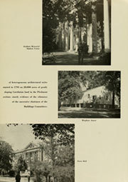Page 9, 1952 Edition, University of North Carolina Chapel Hill - Yackety Yack Yearbook (Chapel Hill, NC) online yearbook collection