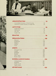 Page 21, 1958 Edition, University of North Carolina Chapel Hill - Yackety Yack Yearbook (Chapel Hill, NC) online yearbook collection