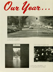 Page 8, 1958 Edition, University of North Carolina Chapel Hill - Yackety Yack Yearbook (Chapel Hill, NC) online yearbook collection
