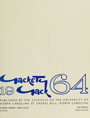 Page 5, 1964 Edition, University of North Carolina Chapel Hill - Yackety Yack Yearbook (Chapel Hill, NC) online yearbook collection