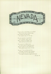 Page 12, 1926 Edition, Reno High School - Re Wa Ne Yearbook (Reno, NV) online yearbook collection