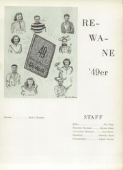Page 5, 1949 Edition, Reno High School - Re Wa Ne Yearbook (Reno, NV) online yearbook collection