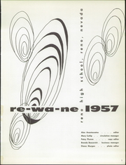 Page 5, 1957 Edition, Reno High School - Re Wa Ne Yearbook (Reno, NV) online yearbook collection