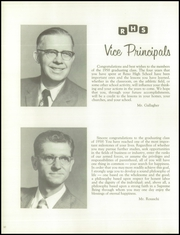 Page 14, 1958 Edition, Reno High School - Re Wa Ne Yearbook (Reno, NV) online yearbook collection