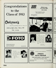 Page 288, 1983 Edition, Reno High School - Re Wa Ne Yearbook (Reno, NV) online yearbook collection