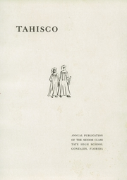 Page 5, 1948 Edition, J M Tate High School - Tahisco Yearbook (Gonzalez, FL) online yearbook collection