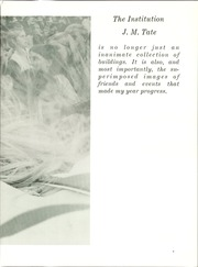 Page 7, 1971 Edition, J M Tate High School - Tahisco Yearbook (Gonzalez, FL) online yearbook collection