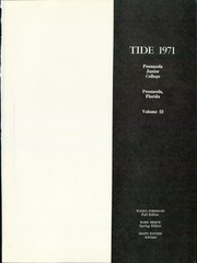 Page 5, 1971 Edition, Pensacola State College - Tide Yearbook (Pensacola, FL) online yearbook collection