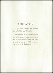 Page 11, 1949 Edition, St Petersburg High School - No So We Ea Yearbook (St Petersburg, FL) online yearbook collection
