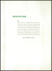Page 11, 1952 Edition, St Petersburg High School - No So We Ea Yearbook (St Petersburg, FL) online yearbook collection