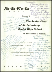 Page 7, 1954 Edition, St Petersburg High School - No So We Ea Yearbook (St Petersburg, FL) online yearbook collection