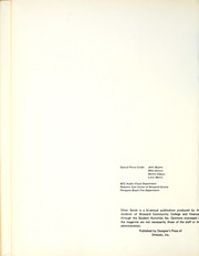 Page 8, 1971 Edition, Broward Community College - Silver Sands Yearbook (Fort Lauderdale, FL) online yearbook collection