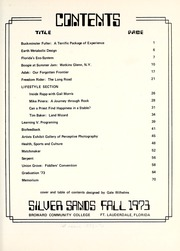 Page 9, 1974 Edition, Broward Community College - Silver Sands Yearbook (Fort Lauderdale, FL) online yearbook collection