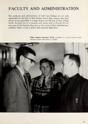 Page 17, 1966 Edition, St Leo University - Golden Legend Yearbook (St Leo, FL) online yearbook collection