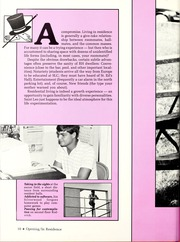 Page 14, 1986 Edition, St Leo University - Golden Legend Yearbook (St Leo, FL) online yearbook collection