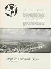 Page 8, 1968 Edition, Florida Bible College - Torch Yearbook (Miami, FL) online yearbook collection