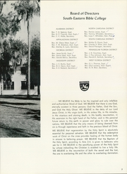 Page 11, 1963 Edition, Southeastern University - Torch Yearbook (Lakeland, FL) online yearbook collection