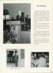 Page 17, 1963 Edition, Southeastern University - Torch Yearbook (Lakeland, FL) online yearbook collection