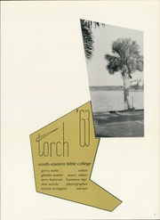 Page 5, 1963 Edition, Southeastern University - Torch Yearbook (Lakeland, FL) online yearbook collection