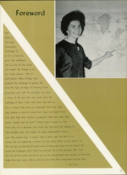 Page 7, 1963 Edition, Southeastern University - Torch Yearbook (Lakeland, FL) online yearbook collection