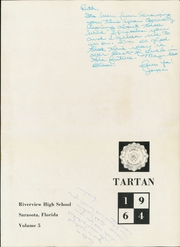 Page 5, 1964 Edition, Riverview High School - Tartan Yearbook (Sarasota, FL) online yearbook collection