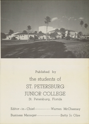 Page 11, 1951 Edition, St Petersburg College - Troiad Yearbook (St Petersburg, FL) online yearbook collection