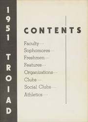 Page 15, 1951 Edition, St Petersburg College - Troiad Yearbook (St Petersburg, FL) online yearbook collection