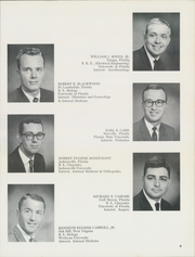 Page 13, 1966 Edition, University of Florida College of Medicine - Retrospectroscope Yearbook (Gainesville, FL) online yearbook collection