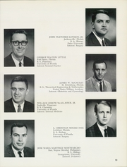 Page 17, 1966 Edition, University of Florida College of Medicine - Retrospectroscope Yearbook (Gainesville, FL) online yearbook collection