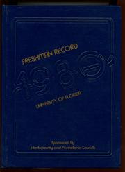 Page 1, 1980 Edition, University of Florida College of Medicine - Retrospectroscope Yearbook (Gainesville, FL) online yearbook collection
