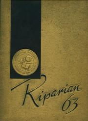1963 Edition, Jacksonville University - Riparian Yearbook (Jacksonville, FL)