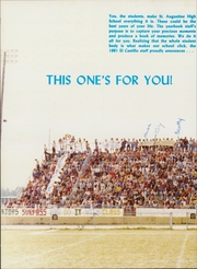 Page 12, 1981 Edition, St Augustine High School - El Castillo Yearbook (St Augustine, FL) online yearbook collection