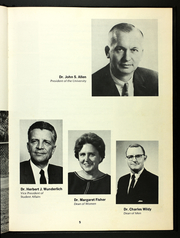 Page 9, 1969 Edition, University of South Florida - Aegean Yearbook (Tampa, FL) online yearbook collection