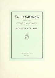 Page 7, 1934 Edition, Rollins College - Tomokan Yearbook (Winter Park, FL) online yearbook collection