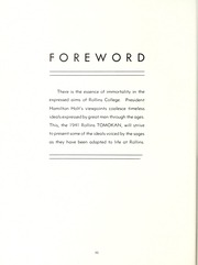 Page 10, 1941 Edition, Rollins College - Tomokan Yearbook (Winter Park, FL) online yearbook collection