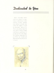 Page 8, 1941 Edition, Rollins College - Tomokan Yearbook (Winter Park, FL) online yearbook collection