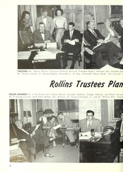 Page 26, 1954 Edition, Rollins College - Tomokan Yearbook (Winter Park, FL) online yearbook collection