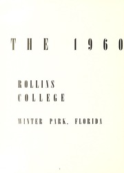 Page 6, 1960 Edition, Rollins College - Tomokan Yearbook (Winter Park, FL) online yearbook collection